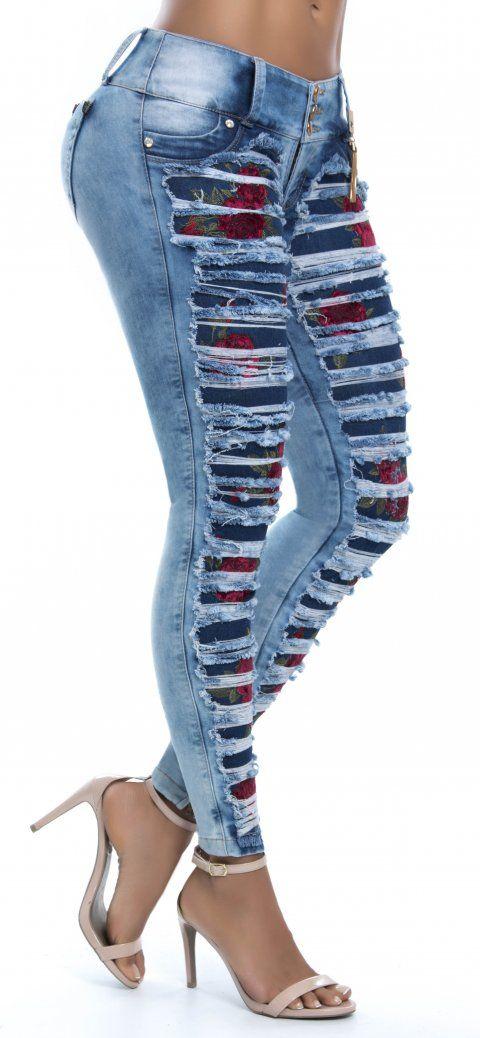 Jeans levanta cola NYE 62746 | angel | Pinterest | Nähen