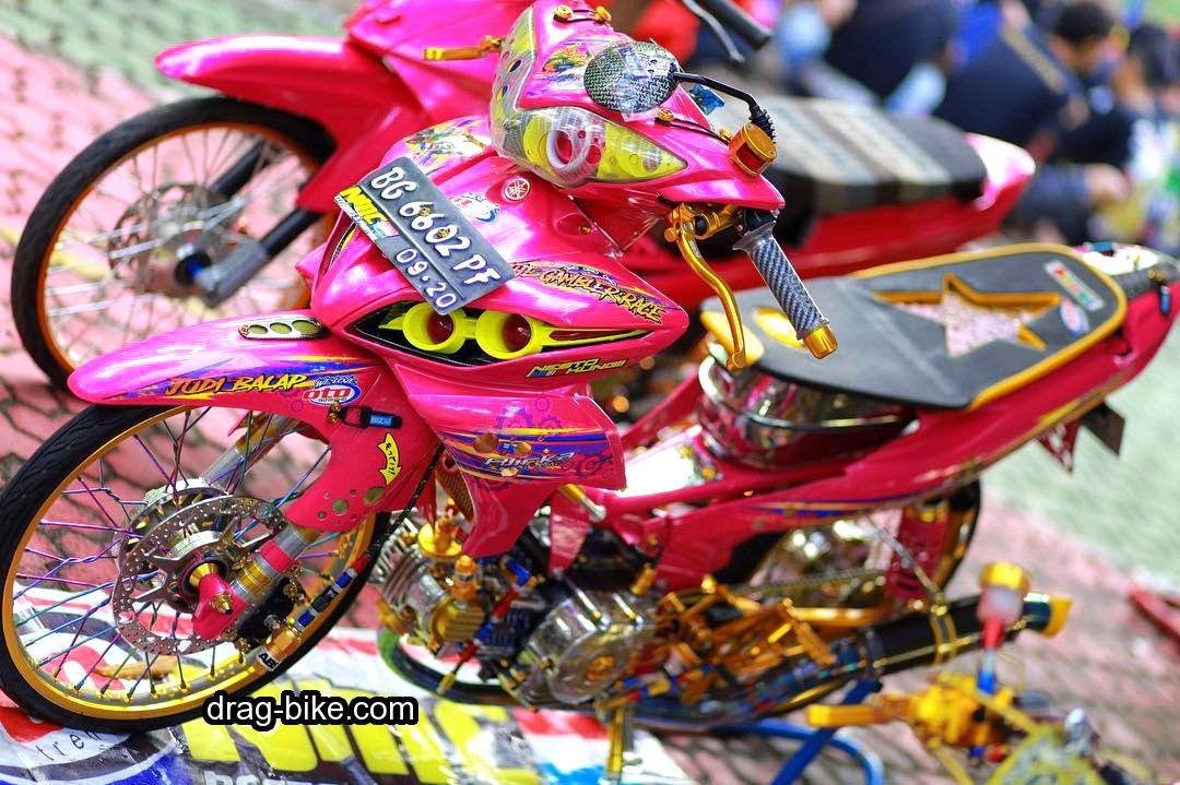 40 Foto Gambar Modifikasi JUPITER Z Kontes Racing Look