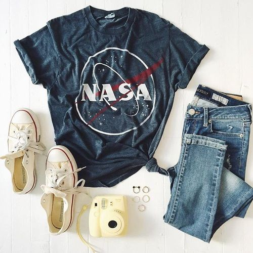 nasa shirt outfit - photo #17