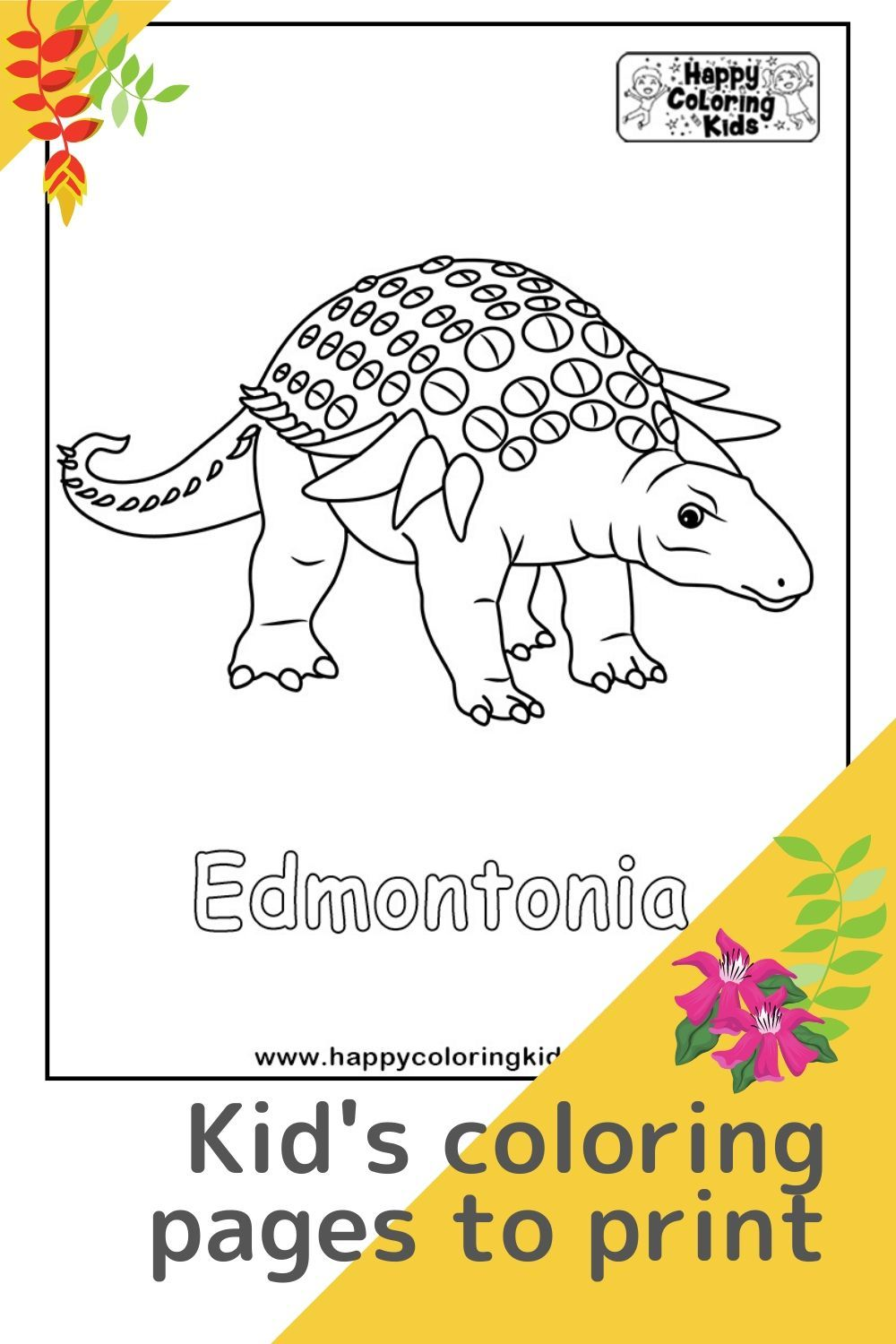 Pin on Dinosaurs Free Printable Coloring Pages for Kids