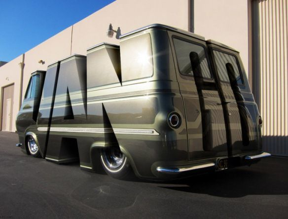 6a9c06c8ca Top 10 Unusual and Amazing Modified Vans