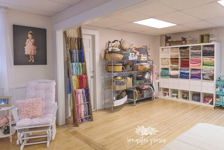 Jennifer prisco photography newborn studio newborn props newborn prop storage ideas