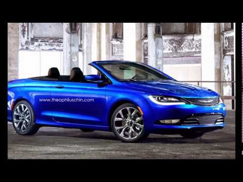 Chrysler Convertible 2016 New 200SRT Is In Progress