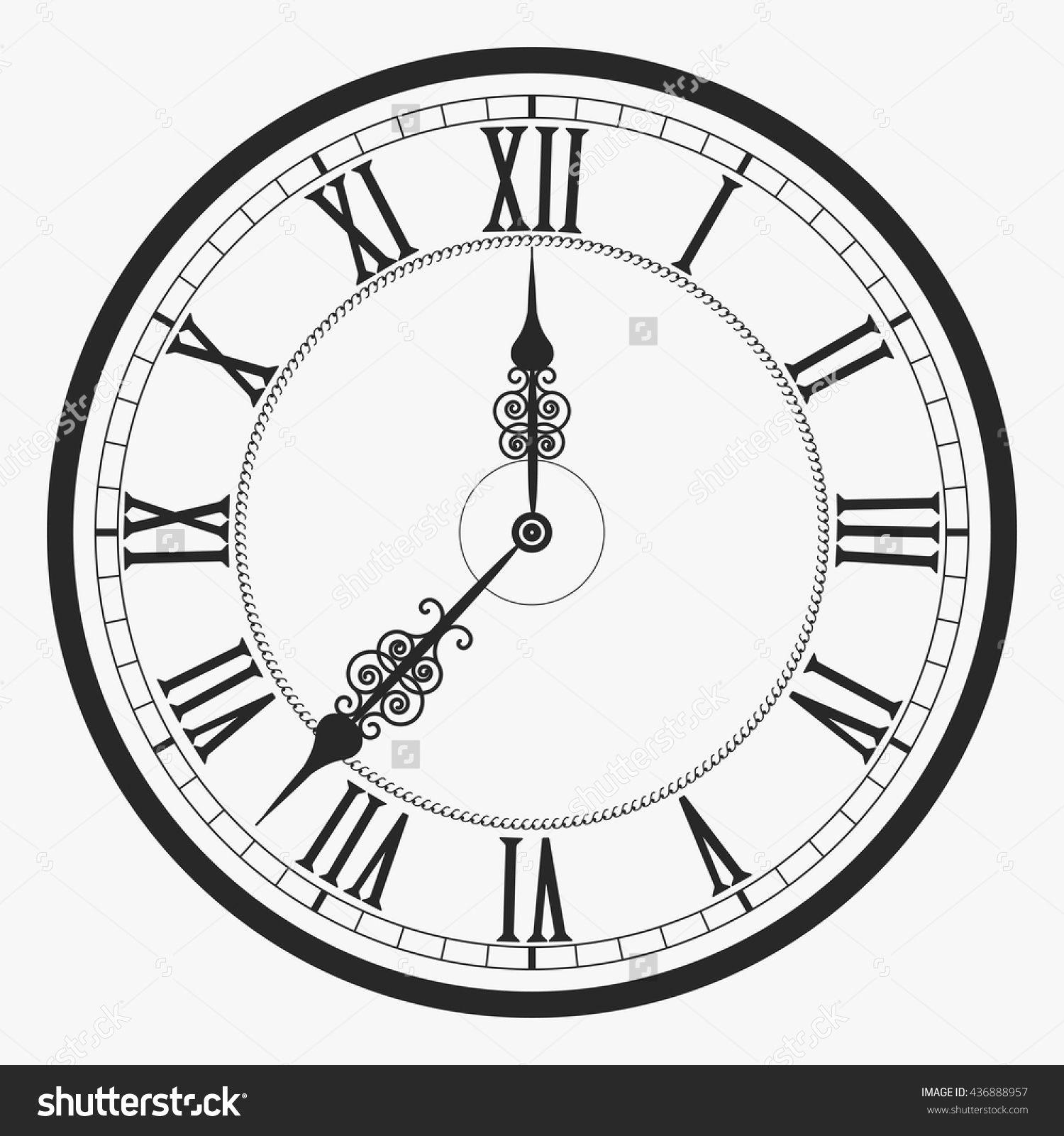 Resultado de imagem para clock tattoo designs tempo caveiras pinterest clocks and tattoo - Antique clock designs for your home ...