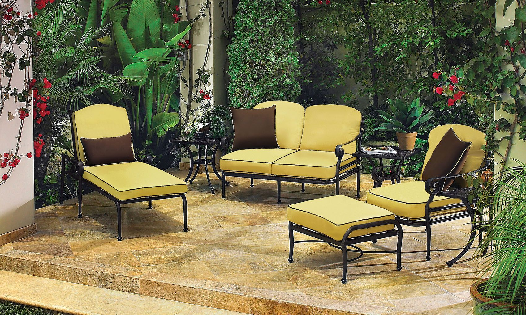 Home garden furniture  Three Gorgeous Outdoor Furniture Collections to MixandMatch
