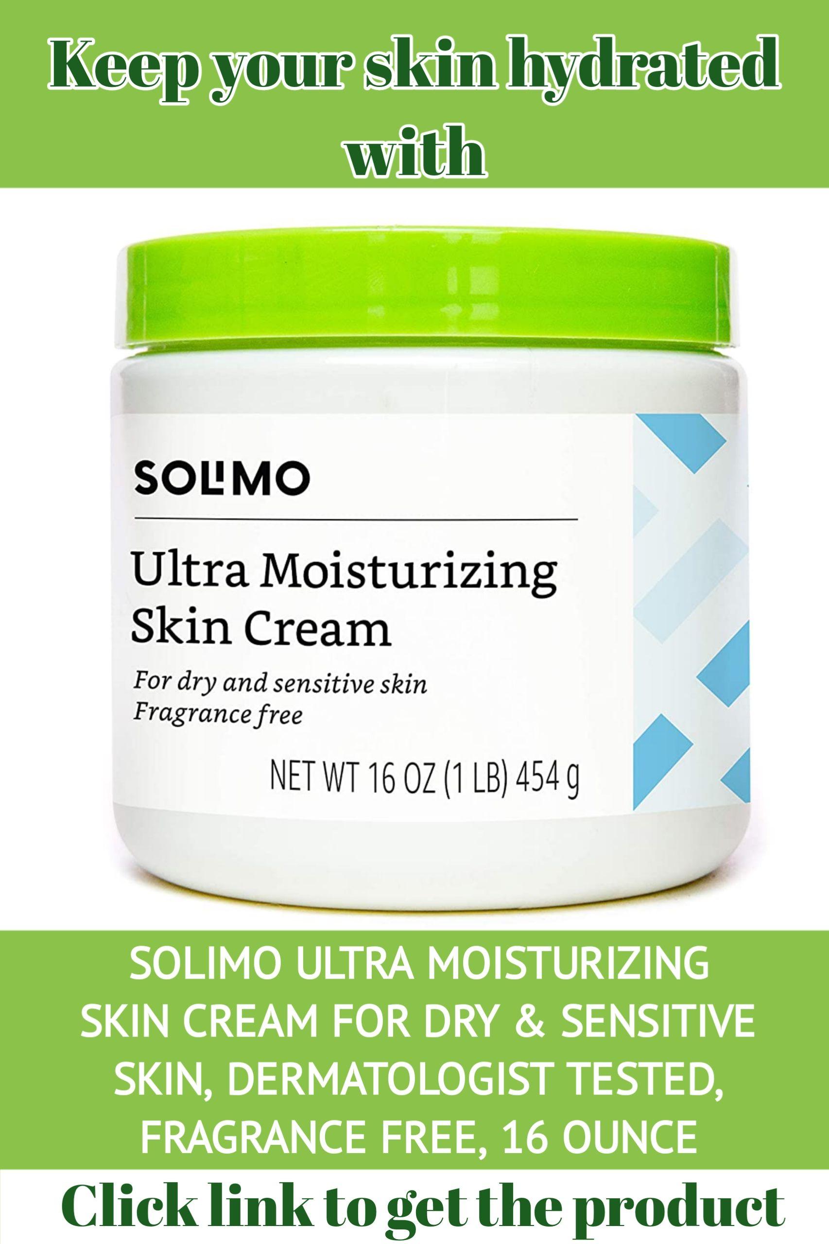 Solmo Ultra Moisturizing Skin Cream In 2020 Moisturizing Skin Cream Skin Cream Fragrance Free Products