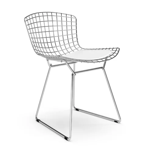 Iman Upholstered Dining Chair In 2020 Side Chairs Bertoia Side Chair Upholstered Dining Chairs