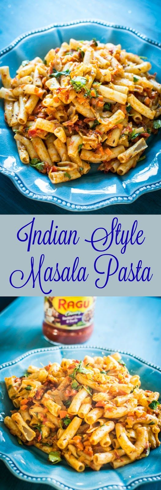 Indian Style Masala Pasta Recipe for holidays. #simmeredintradition ...
