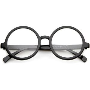 ba70890d06b27 Retro round spectacles clear lens glasses 8034