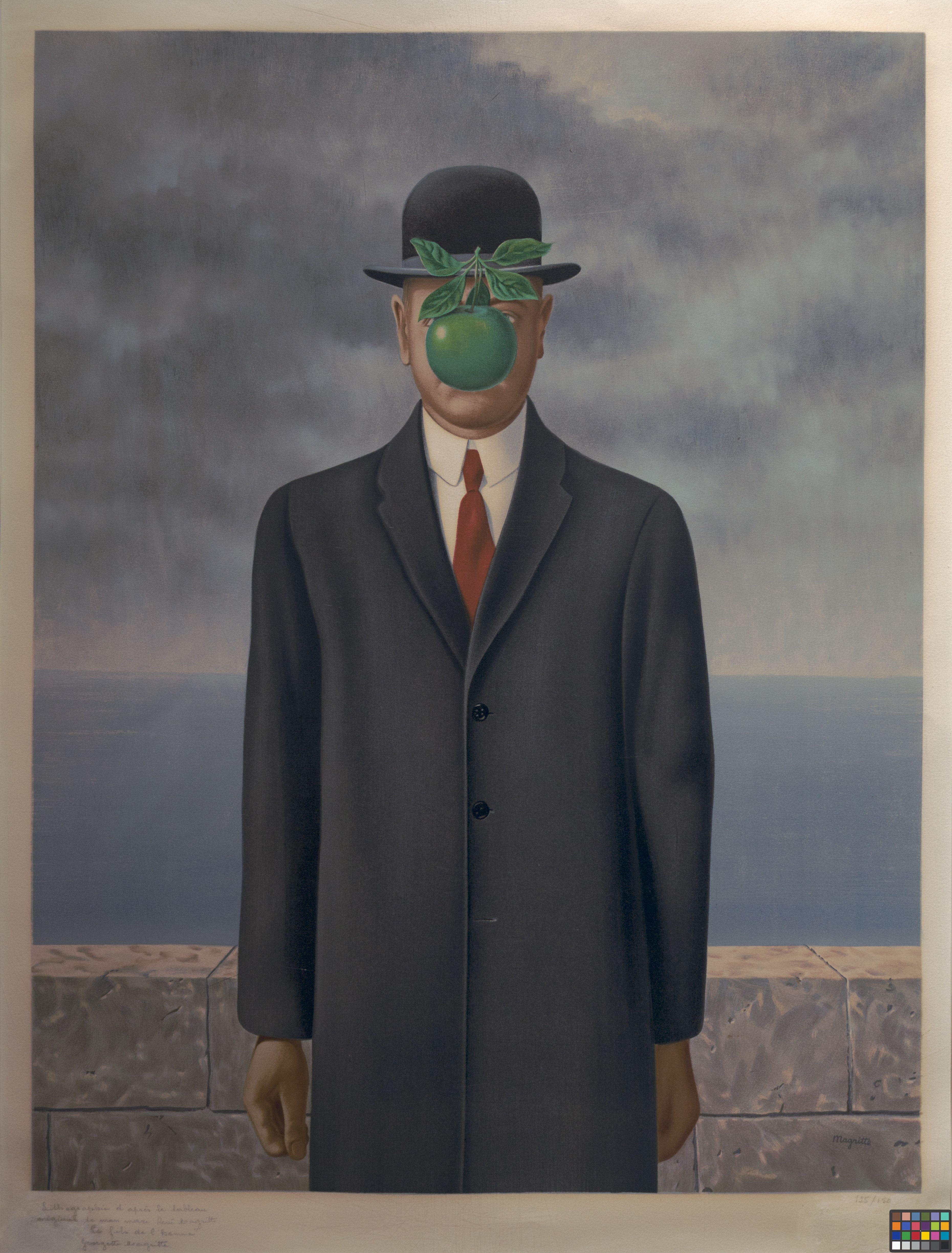 The Son of Man, René Magritte, 1964. Oil on canvas. | Art ...