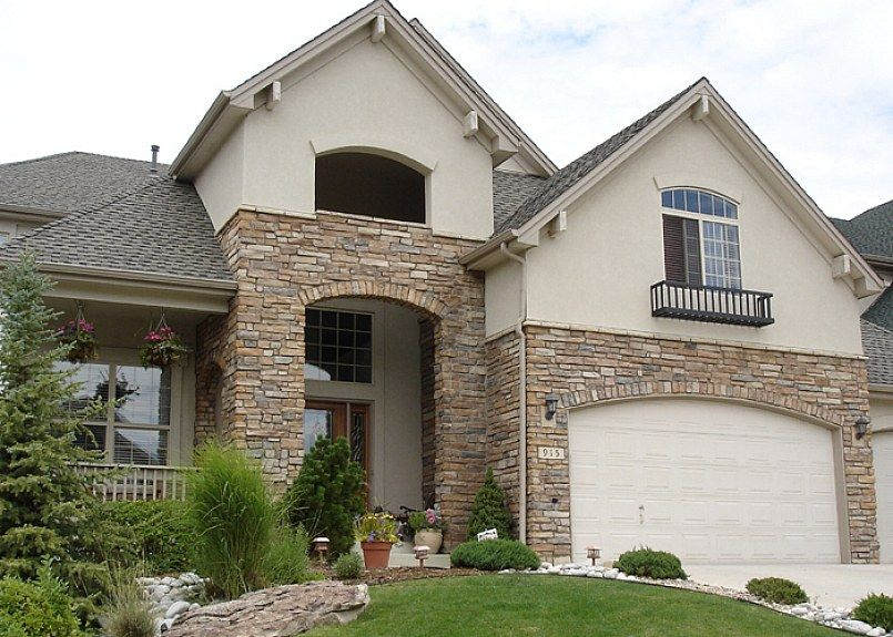 Best Splendid Stone Veneer Houses Images On Pinterest Stone - House exterior wall design