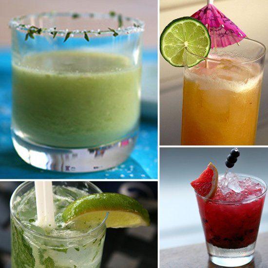 9 Warm-Weather Cocktails - Low-Cal Cocktails -