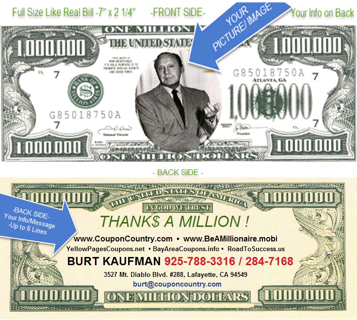 Only Hours Left Be A Millionaire Million Dollar Bills Business Card Sets You And Prospects Clients Apart Money Business Card Set Dollar Bill Dollar