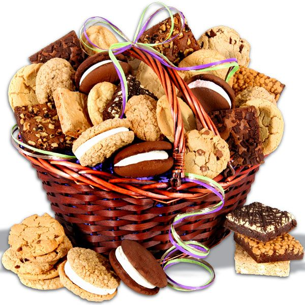 Baked Christmas Gifts: Baked Goods Deluxe Gift Basket