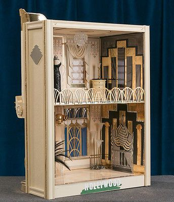 Art Deco  Miniature Dollhouse Doll House Picture