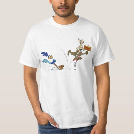 Wile E Coyote and ROAD RUNNER™ Acme Products 7 TShirt
