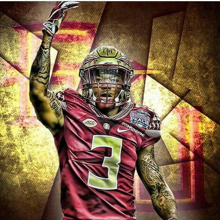 Florida Srate Seminoles Derwin James Fsu Football Florida State Seminoles Football Noles Football