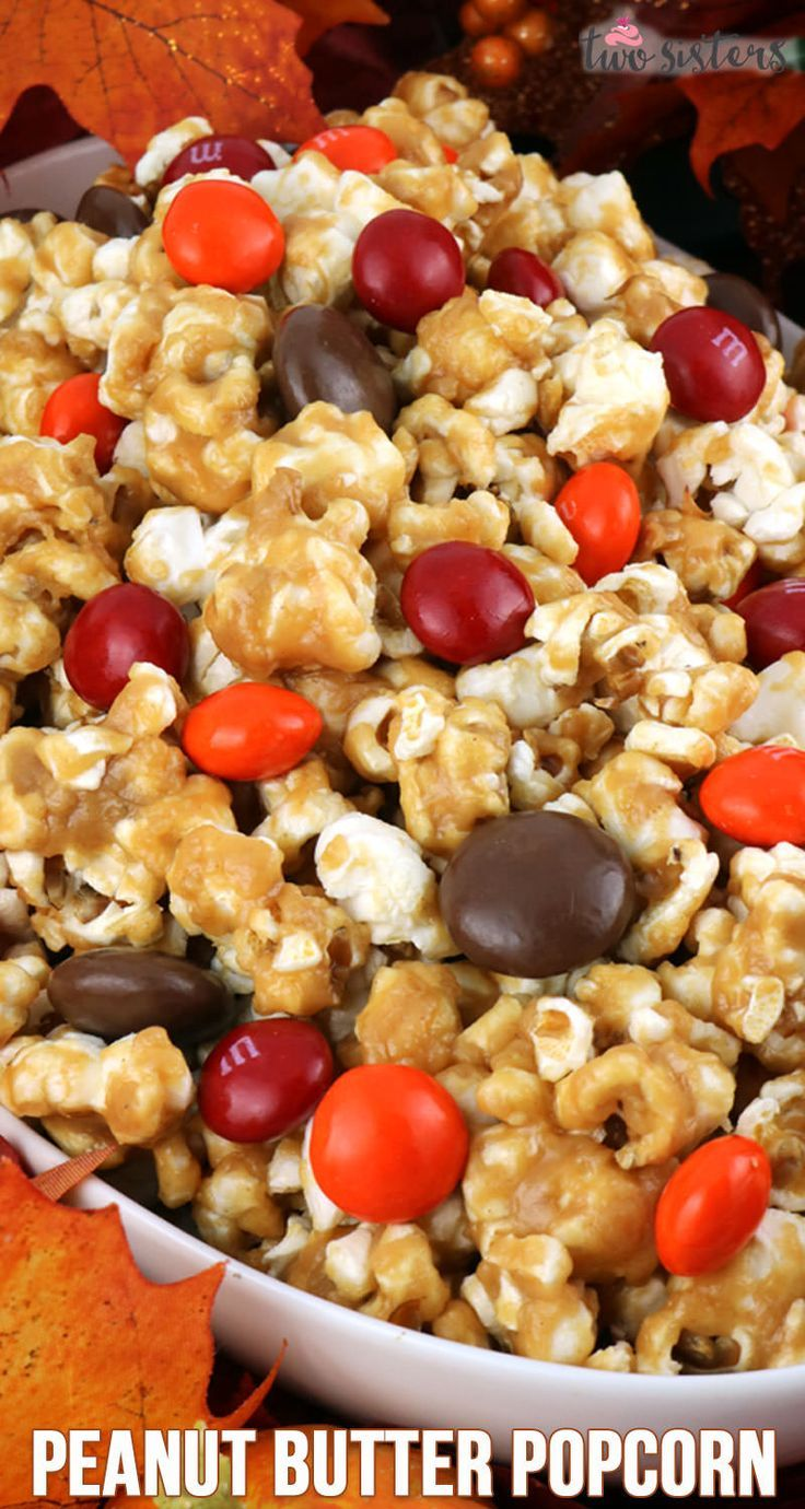 Peanut Butter Popcorn - Two Sisters