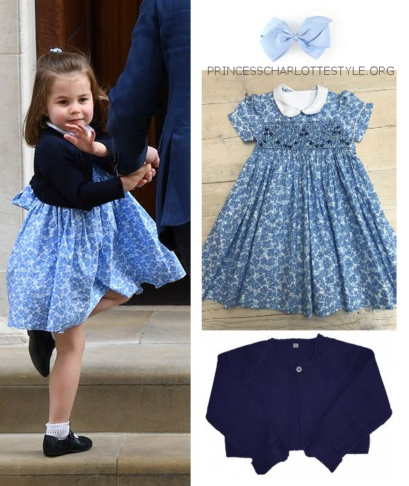 Princess Charlotte Outfit For Visit To St