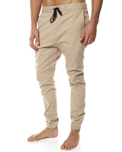 SURFSTITCH - MENS - PANTS - CHINO - ZANEROBE SURESHOT ELASTIC PANT - TAN  ($50