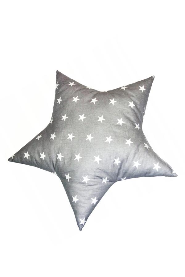 Poduszka Bawelniana Gwiazdka 46x46 Antyalergiczna Pillows Throw Pillows Bed