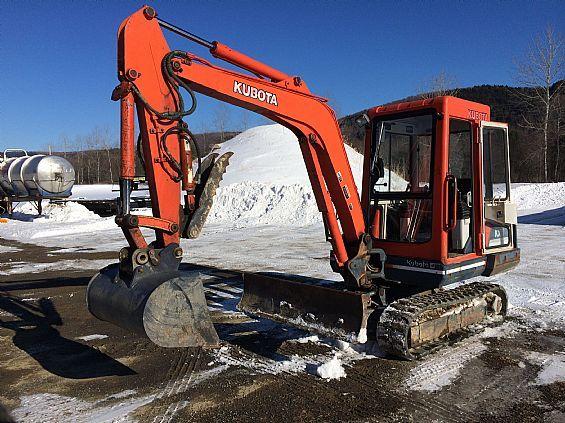 1994 Kubota KX101 Excavator Industrial Earthmove Eq  For