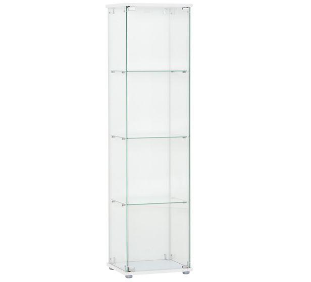Vision 3 Shelf Glass Display Cabinet Fantastic Furniture $128 L36 X D46 X  H162