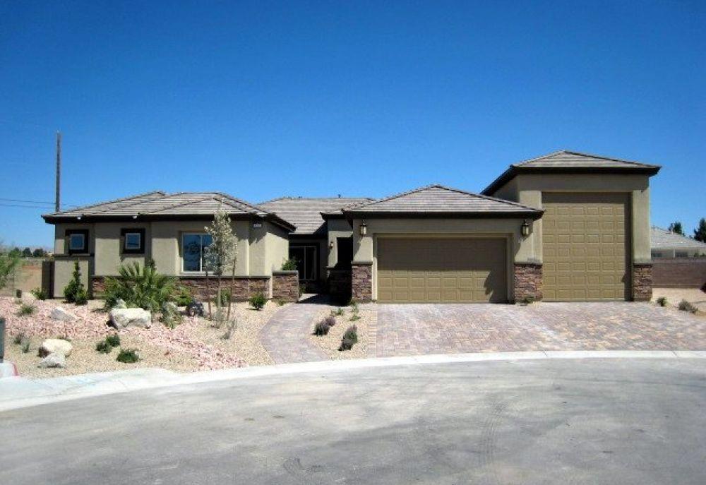 Las Vegas New Homes 1/2 acre 1 story Red Rock Floorplan ...