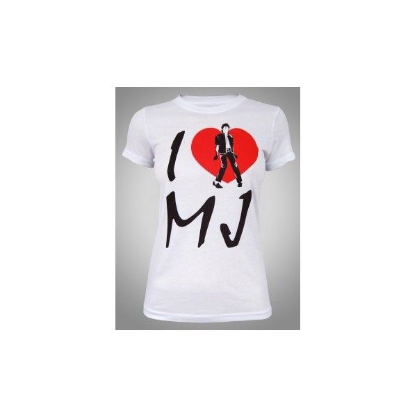 I Love Heart Michael Ladies T-Shirt