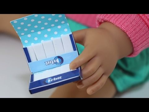 Doll Redbox Diy How To Make American Girl Doll Crafts Youtube
