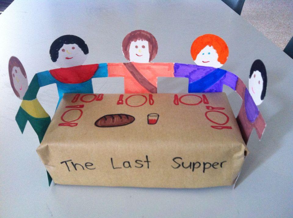 Last Supper Printable Crafts