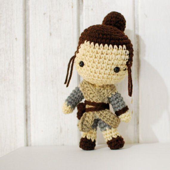 Rey Crochet Pattern - Instant Download - Rey from Star Wars ...