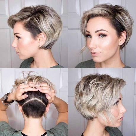 kort kort frisyr