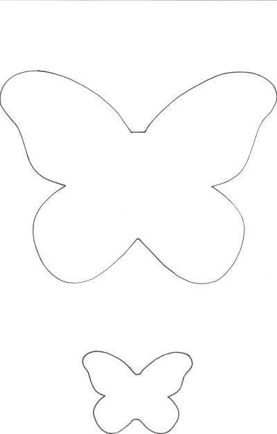 simple butterfly template - Google Search Uskrsne čestitke