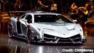 #Lamborghini Unveils 4 Million Dollar Supercar