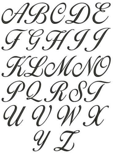 Letra Cursiva Para Imprimir Moldes Gratis Do Alfabeto Em 2020