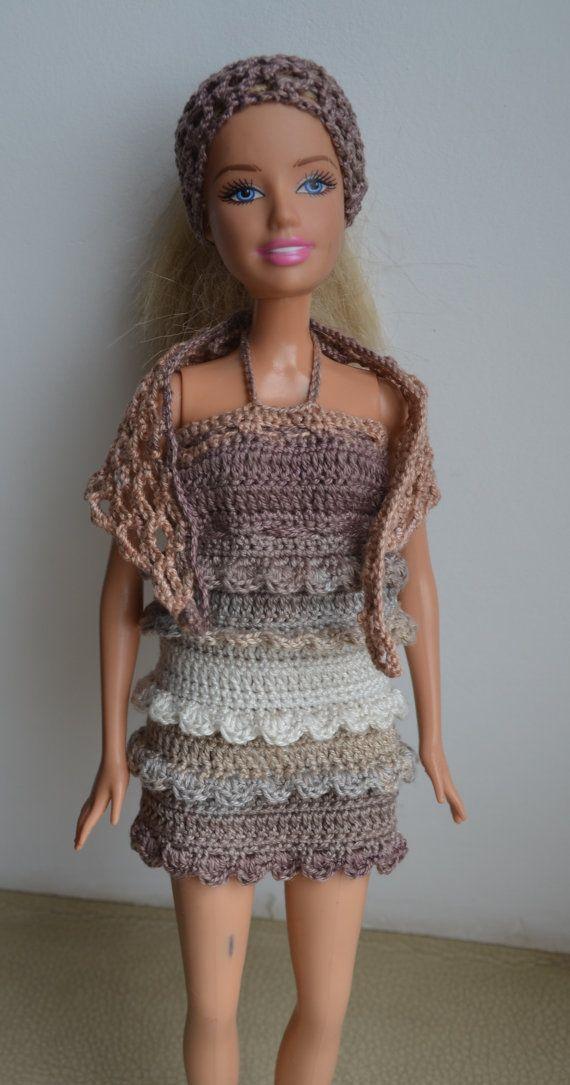 Inspiration - No pattern...Summer Set for a Fashion Doll - Dress ...