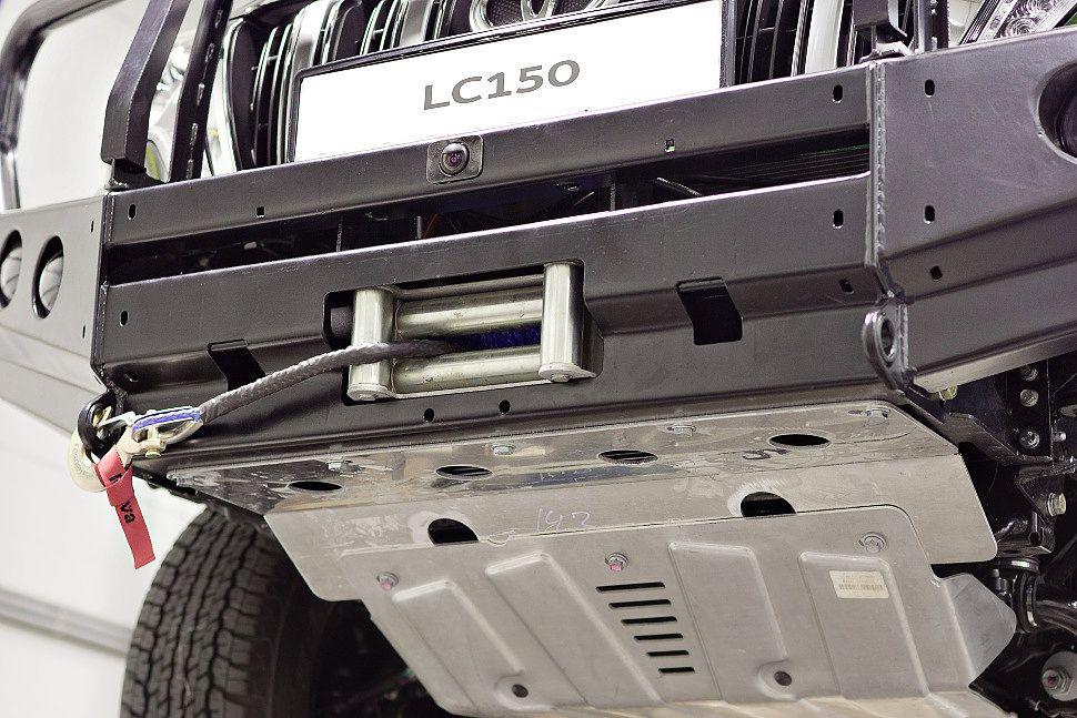 Силовой обвес Toyota Land Cruiser Prado 150 рестайлинг