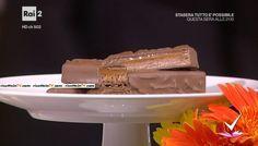 """""""Detto Fatto"""": la ricetta del cuor di caramello di Mirco Della Vecchia del 20 settembre 2016. La merenda dei più golosi, ispirata ad un celebre snack."""
