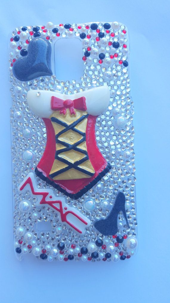 Bling I Corset I Makeup I Diva Bedazzled by HouseOfCrafts01