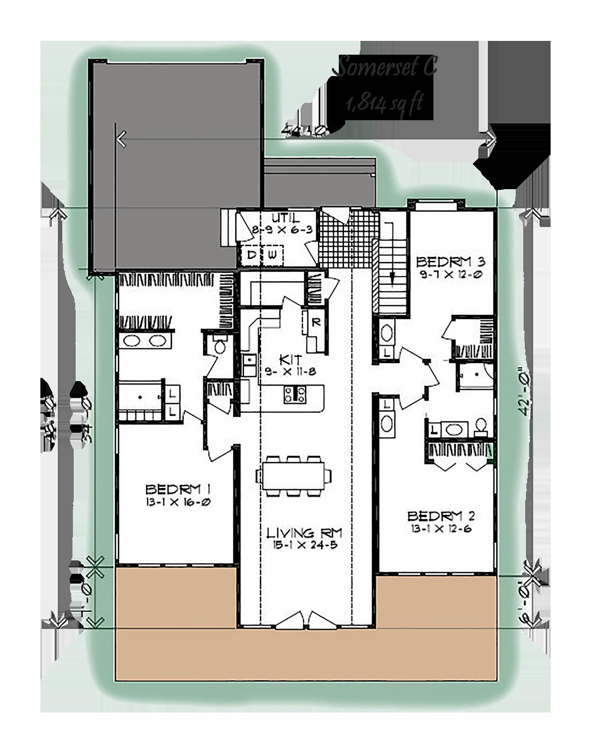Somerset Heritage Homes Of Nebraska Custom Homes Somerset Home