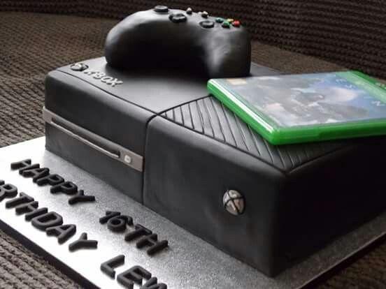 Xbox One Cake Video Game Cakes Xbox Cake Xbox One Cake