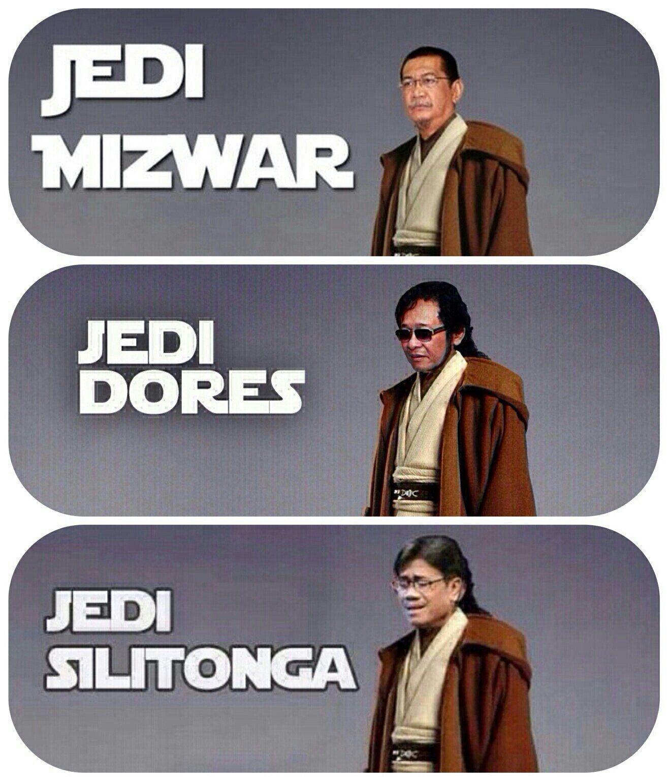 Plus Jedi Silitonga MEME Pinterest