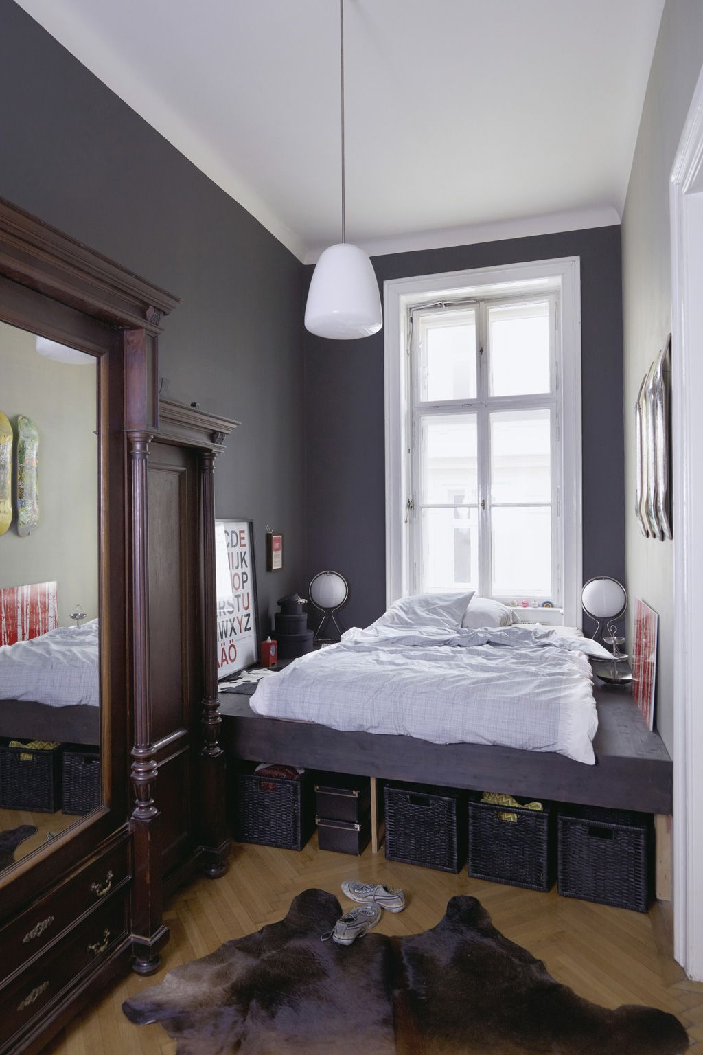 Nett Schmales Schlafzimmer Bilder >> Schmales Zimmer ...