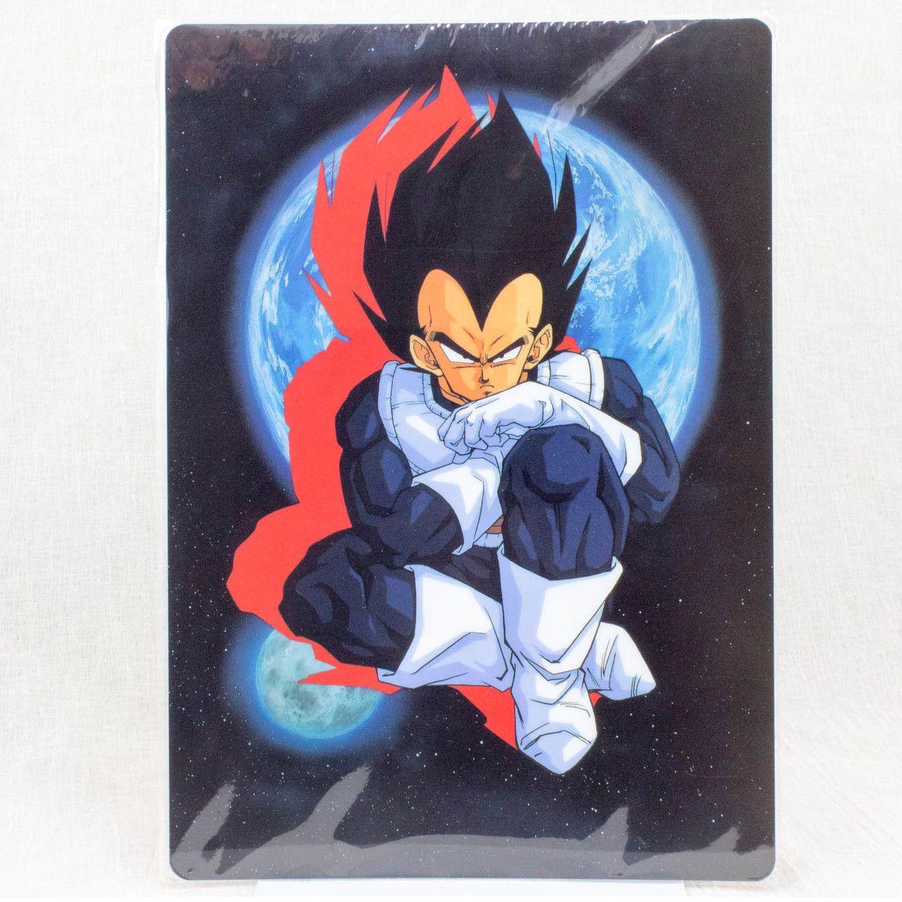 Dragon Ball Z Plastic Pencil Board Pad Shitajiki Vegeta JAPAN ANIME MANGA