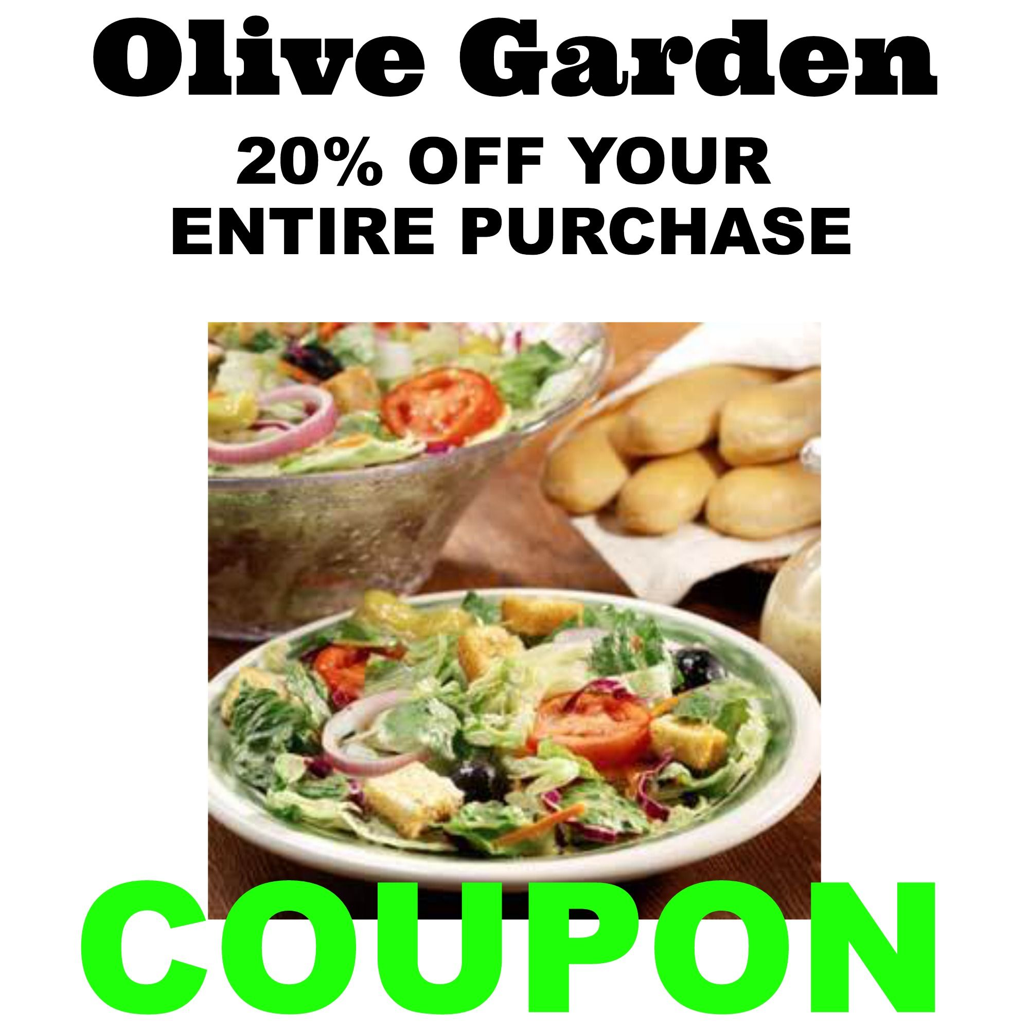 olive garden coupons and discounts are available to help you save money when dining at an olive garden italian restaurant