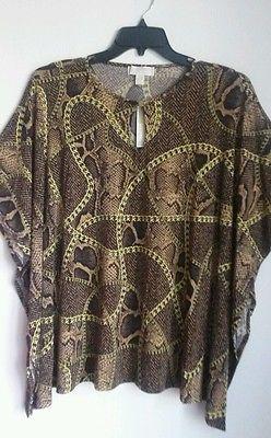 Michael kors NWT women's Dolman knit top size Small Msrp $99.50