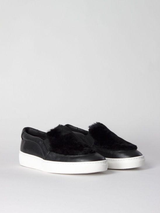Fur Sneaker Black J.Lindeberg
