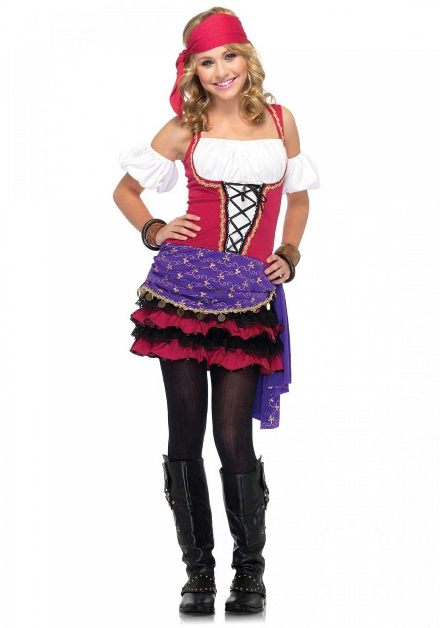 Leg Avenue Crystal Ball Gypsy Size ML  sc 1 st  Pinterest : gypsy kid costume  - Germanpascual.Com