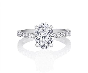 6dd3a8df83b3e www.debeers.com, De Beers, DB Classic Pavé Solitaire Ring ...